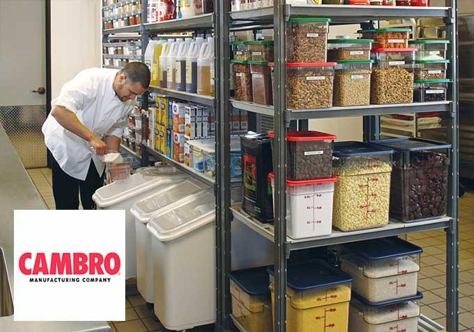 Altmış yıl önce Camtray adında tek bir ürünle yola çıkan Cambro bugün çok çeşitli tepsiler, masa servisi ve teşhir ürünleri, depolama, rafa sistem, satış ve yalıtımlı nakliye ürünlerinin yanında, yenilikçi bulaşık yıkama sistemleri ve sağlık sektöründe yemek dağıtım çözümleri sunmaktadır.