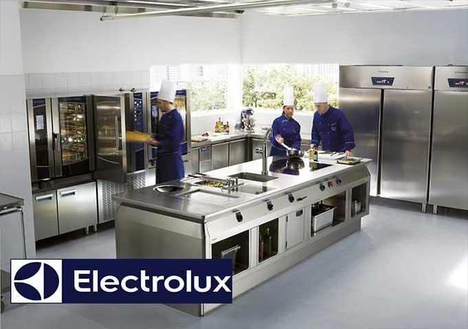 Endüstriyel Mutfak ve Çamaşırhane projeleri konusunda bilgi, birikim, tecrübe ve kalite kavramları söz konusuysa ilk akla gelen firma Electrolux'tür. Türkiye'nin 7 bölgesine yayılmış servis ağı sayesinde müşterilerine kesintisiz hizmet vermektedir. Profesyonellerin tercihi olan Profesyonel Electrolux çözümleri Dinamik Endüstriyel tarafından en uygun şartlarda sağlanmaktadır.
