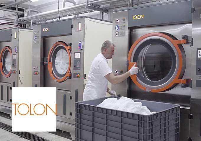 Tolon, tam otomatik endüstriyel tip çamaşır yıkama sıkma makineleri, kurutma makineleri, silindir ütüleme makineleri ve katlama makinelerinde ülkemizin ilk üreticisi olarak 1937'den bu yana faaliyet göstermektedir. Tecrübeli mühendisleri ve ar-ge ekibiyle sektörün ihtiyacını belirleyerek, maksimum kazanç sağlayacak ürünler ortaya çıkarmaktadır. Endüstriyel Çamaşırhaneler ve Kuru Temizlemeler için her kapasiteye uygun son teknoloji ürün gruplarını Dinamik Endüstriyel aracılığı ile müşterilerine buluşturmaktadır.
